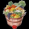 Les Paniers de la ferme Logo